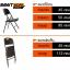 เก้าอี้เดี่ยวพับได้ มีพนักพิง ลายหวาย KOMMET HDPE รุ่น HDC-001L thumbnail 1