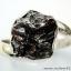 Campo Del Cielo Meteorite แหวนเงินแท้ 925 (แหวนเบอร์ : 61 ,4.9g) thumbnail 1
