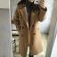 เสื้อโค้ทกันหนาวผู้หญิง สีน้ำตาล โค้ทยาว ซับในบุ ใส่เที่ยวต่างประเทศ สวยๆ