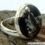 ไพไรต์-แมกนีไทต์ PYRITE-MAGNETITE (HEALER'S GOLD)- แหวนเงินแท้ 925(SIZE 57, 6.1g) thumbnail 5