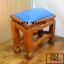 โต๊ะกราบ ไม้สักทองไซส์เล็ก [สีน้ำเงิน] thumbnail 5