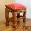 โต๊ะกราบ ไม้สักทองไซส์เล็ก [สีแดง] thumbnail 4