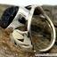 Black Aura Druzy แหวนเงินแท้ 925 (แหวนเบอร์ : 53 , 4.8g ) thumbnail 2