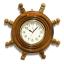 นาฬิกาพวงมาลัยเรือไม้สักทอง 16 นิ้ว thumbnail 3