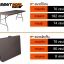 โต๊ะอเนกประสงค์พับได้ ลายหวาย KOMMET HDPE รุ่น HDT-180L thumbnail 1