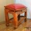 โต๊ะกราบ ไม้สักทองไซส์ใหญ่ [สีแดง] thumbnail 6