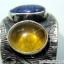 ไคยาไนต์-อำพัน Kyanite-Amber แหวนเงินแท้ 925 (แหวนเบอร์ : 58 , 4.4g ) thumbnail 6