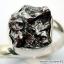 Campo Del Cielo Meteorite แหวนเงินแท้ 925 (แหวนเบอร์ : 61 ,4.9g) thumbnail 7