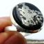 ไพไรต์-แมกนีไทต์ PYRITE-MAGNETITE (HEALER'S GOLD)- แหวนเงินแท้ 925(SIZE 57, 6.1g) thumbnail 2