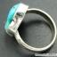 ทอร์ควอยซ์ Turquoise แหวนเงินแท้ 925 (แหวนเบอร์ : 53) thumbnail 4