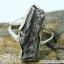 Campo Del Cielo Meteorite แหวนเงินแท้ 925 (แหวนเบอร์ : 55 ,5g) thumbnail 5
