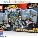 SY368 ตัวต่อกล่องใหญ่ Heroes Assemble ห้องแลปของหน่วยชิลด์และทีม Avengers