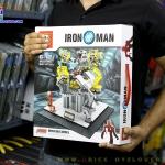 SY825 ตัวต่อ Iron man Suit Up Stage ห้องแลปสำหรับใส่ชุดเกราะของโทนี่ สตาร์ค
