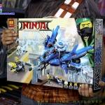 10721 Ninja ของเล่นตัวต่อ Jay Lightning Jet ต่อสู้กับยานปูของกองทัพฉลาม