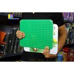DB003GN แผ่น Plate ตัวต่อขนาดใหญ่ 24x17 ปุ่ม สีเขียว