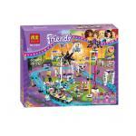10563 ตัวต่อ Friends สวนสนุก Amusement Park กับรถไฟเหาะ Roller Coaster