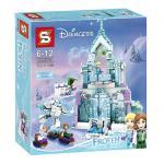 ตัวต่อ Princess Castle ปราสาทเจ้าหญิงบนภูเขาน้ำแข็ง