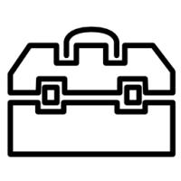 บล็อกชุด ลูกบ็อกซ์ 1/4 นิ้ว (2 หุน)