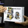 SD6062 Mini Street ของเล่นตัวต่อร้านขายกระเป๋าแบรนด์เนม Burberry