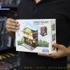 657012 Mini City StreetScape ของเล่นตัวต่อร้านขายเครื่องประดับ Jewelry Shop