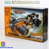 3413 ตัวต่อ King Steerer รถแข่ง Black Champion Racer