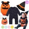 ชุด Pumpkin Ghost บอดี้สูทแฟนซีสำหรับเด็ก ต้อนรับวันฮาโลวีน -- พร้อมส่ง