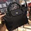 PRADA NYLON BAG WITH ZIP กระเป๋าถือหรือสะพายสไตล์ Longchamp - พร้อมส่ง