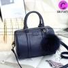 """KEEP leather Pillow bag รุ่นขายดี สีใหม่ """" Navy Royal """" สวยหรู"""