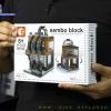 SD6045 Mini Street ของเล่นตัวต่อร้านขายนาฬิกาแบรนด์ดัง Omega