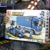 M38-B0357 ของเล่นตัวต่อรถแข่ง F1 กับรถบรรทุก Blue Lightning และทีมช่าง