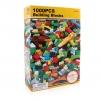 3D050 ตัวต่ออิสระ คละแบบ คละสี 1,000 ชิ้นในกล่องกระดาษสีเหลือง