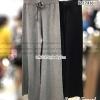 กางเกงผ้าทอเกรดพรีเมียม ไม่มีรอยต่อ ทรงกระบอกใหญ่ทรงสวยใส่ออกมาขาบาน