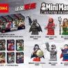 0282-0287 Justice League มินิฟิกเกอร์แบทแมนและเพื่อนๆ Meta Human เซ็ต 6 กล่อง