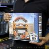 657013 Mini City StreetScape ของเล่นตัวต่อสถานีรถราง Railway Station