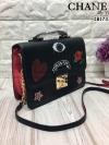 Aldo Embroidery Bag 2017 พร้อมส่งความสวย กระเป๋าถือและสะพายข้าง ลายหนังลิ้นจี่ หนังสวย น้ำหนักเบา