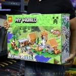 10531 ของเล่นตัวต่อ MineWorld หมู่บ้านไมน์คราฟท์ The Village