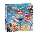 10616 Super Hero Girls ตัวต่อ Wonder Woman Dorm ห้องแสนสวยของวัลเดอร์วูแมน