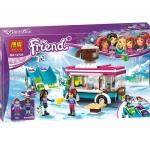 10729 Friends ชุดตัวต่อ Snow Resort และร้านกาแฟสุดชิค