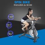 จักรยานปั่น Spin Bike รุ่น SB909 น้ำหนักจาน 20kg