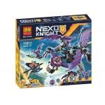 10702 อัศวิน Nexo Knights ยานมังกรบินเฮลิกอยมีใบพัด 2 ข้าง the Heligoyle