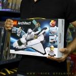 3118 Architect กระสวยอวกาศ Space Shuttle 3 in 1 เปลี่ยนเป็นรถสำรวจและสถานีวิจัย