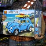 10566 ของเล่นตัวต่อ Creator รถเต่า Volkswagen Beetle ยี่ห้อ Bela