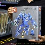 S60031 ตัวต่อ MK38 ชุดเกราะ Hulkbuster สีฟ้า Mark XXXVIII