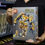 S60020 ตัวต่อ MK36 ชุดเกราะ Hulkbuster สีส้ม Mark XXXVI ต่อได้ 2 แบบ