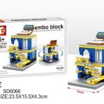 SD6066 Mini Street ของเล่นตัวต่อร้านขายเฟอร์นิเจอร์ IKEA