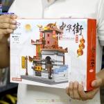 XB-01101 Zhong Hua Street ของเล่นตัวต่อ China Town