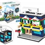 657010 Mini City StreetScape ของเล่นตัวต่อร้านขายอุปกรณ์กีฬา Sports Equipment