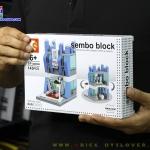 SD6068 Mini Street ของเล่นตัวต่อร้านขายโทรศัพท์มือถือและเครื่องใช้ไฟฟ้า Samsung