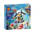 10614 Super Hero Girls ตัวต่อฮีโร่สาว Bumblebee กับ Helicopter Crystal