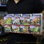 77001 Mini Figures ไดโนเสาร์ Jurassic World เซ็ต 8 กล่อง
